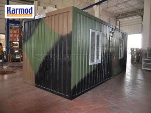 mobile fold-out container home