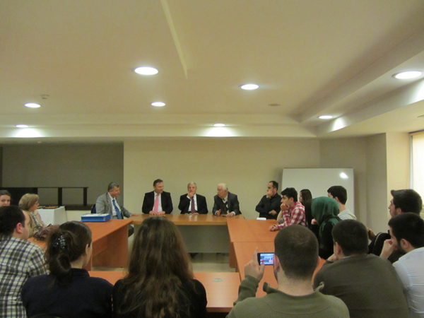 lecture with istanbul university of commerce