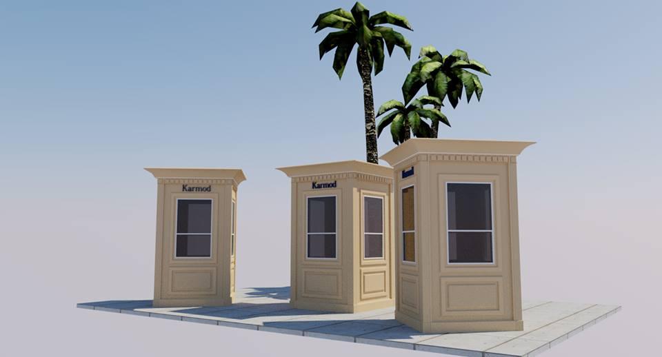 mobile guard shack