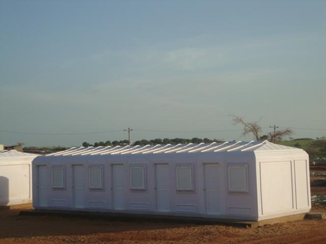modular fiberglass structures