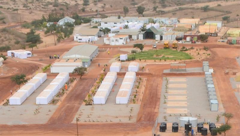 Oil Gas Field Camp