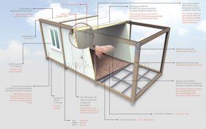 prefab folding house