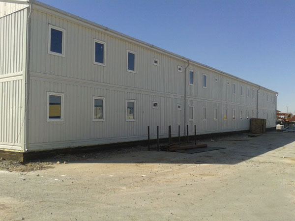 Prefabricated building in Kazakhstan