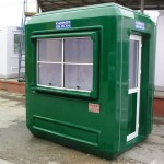 prefabricated guard booths