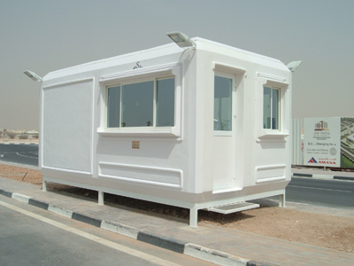 Prefabricated Security Guard Cabins