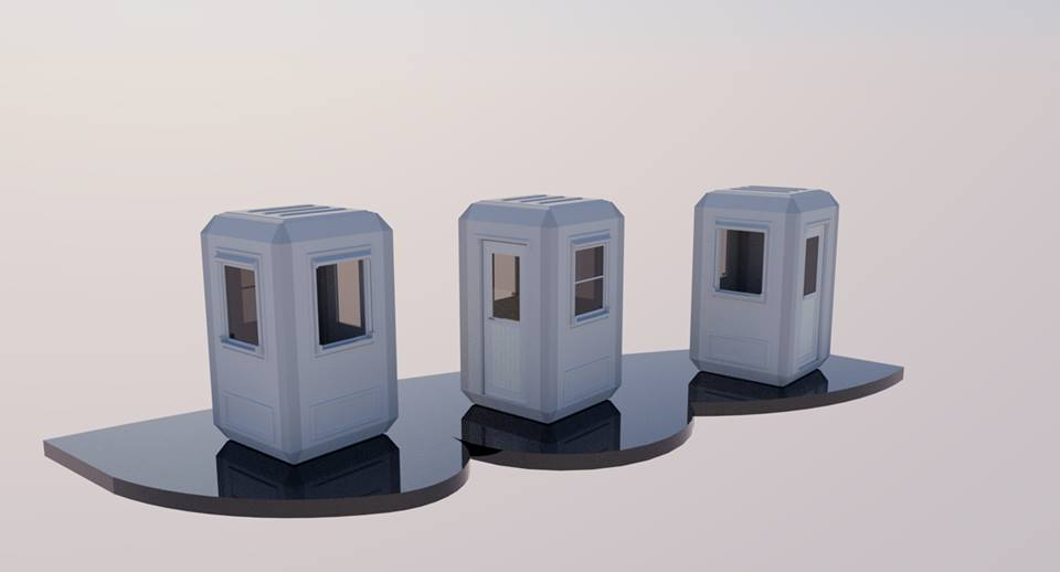 security guard shacks