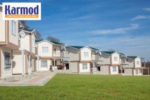 prefabricated luxury steel villa