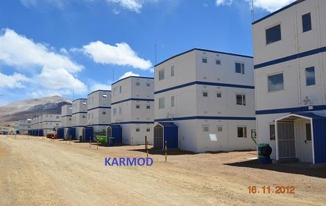 Azerbaijan container camp
