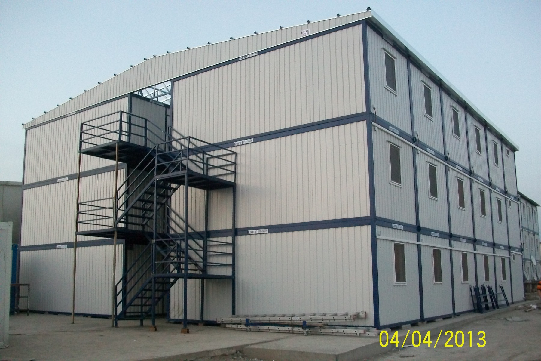 Modular buildings temporary relocatable building for Prefab units