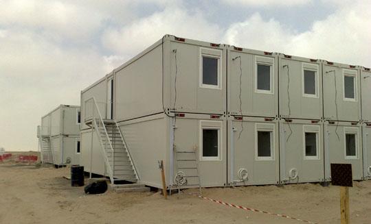 portable modular camp