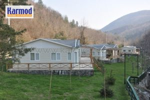prefab steel structure villa