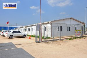 prefabricated camp and office buildings