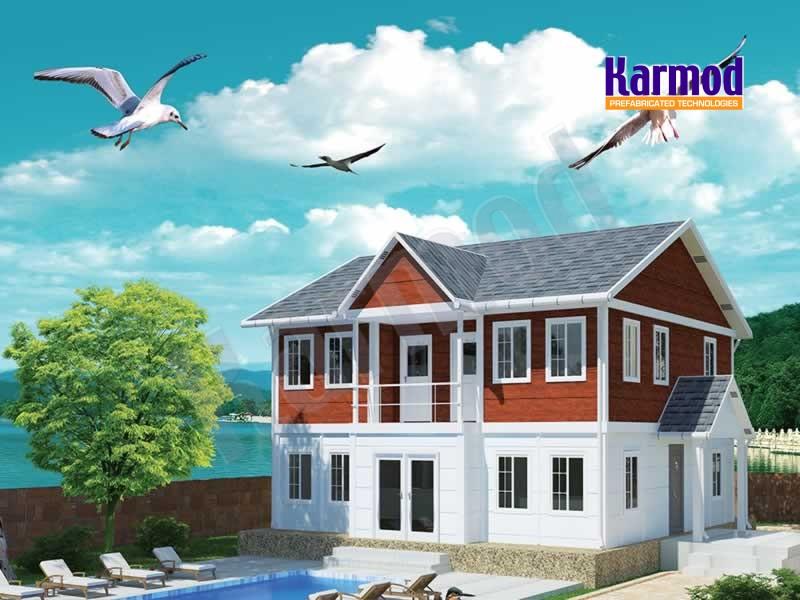 prefabricated villas turkey