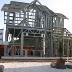 light steel frame homes low cost