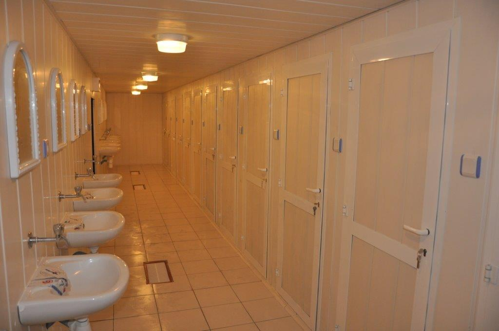 container toilet shower