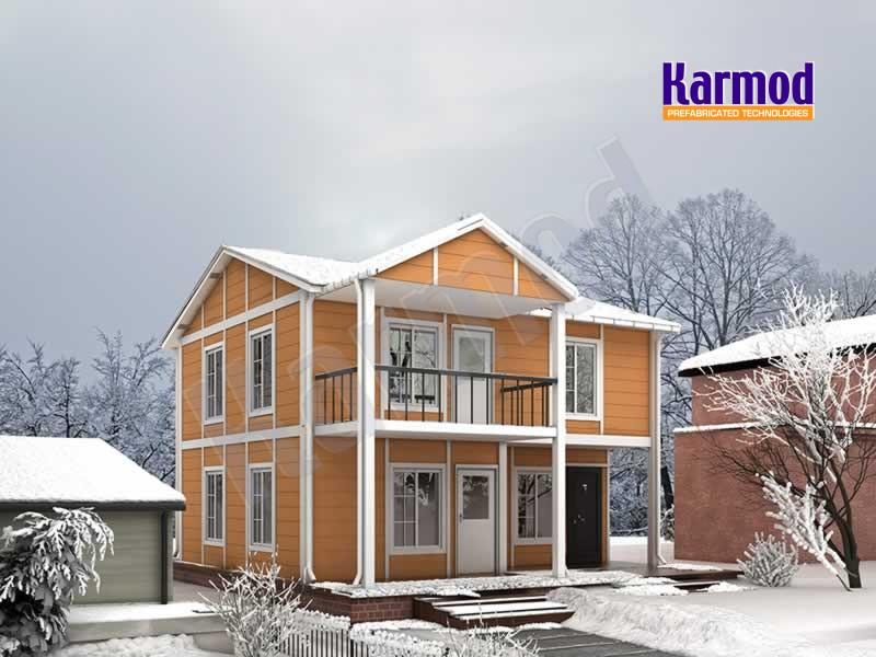 Turkey prefabricated villa