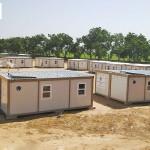 Syrians caravans refugee camp