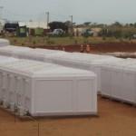 Bâtiments modulaires sanitaires