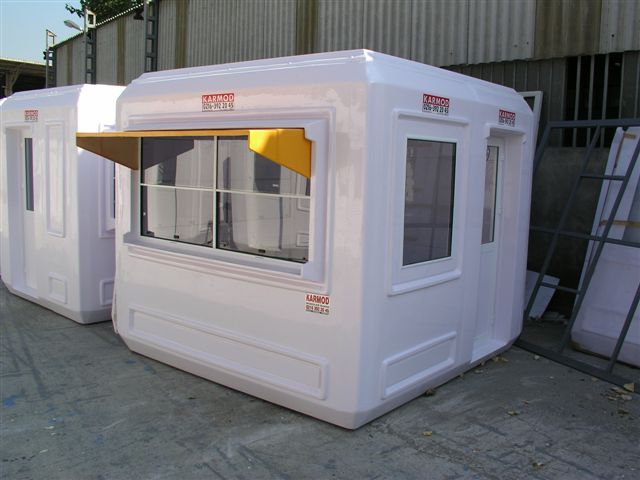 cabina modulara de paza