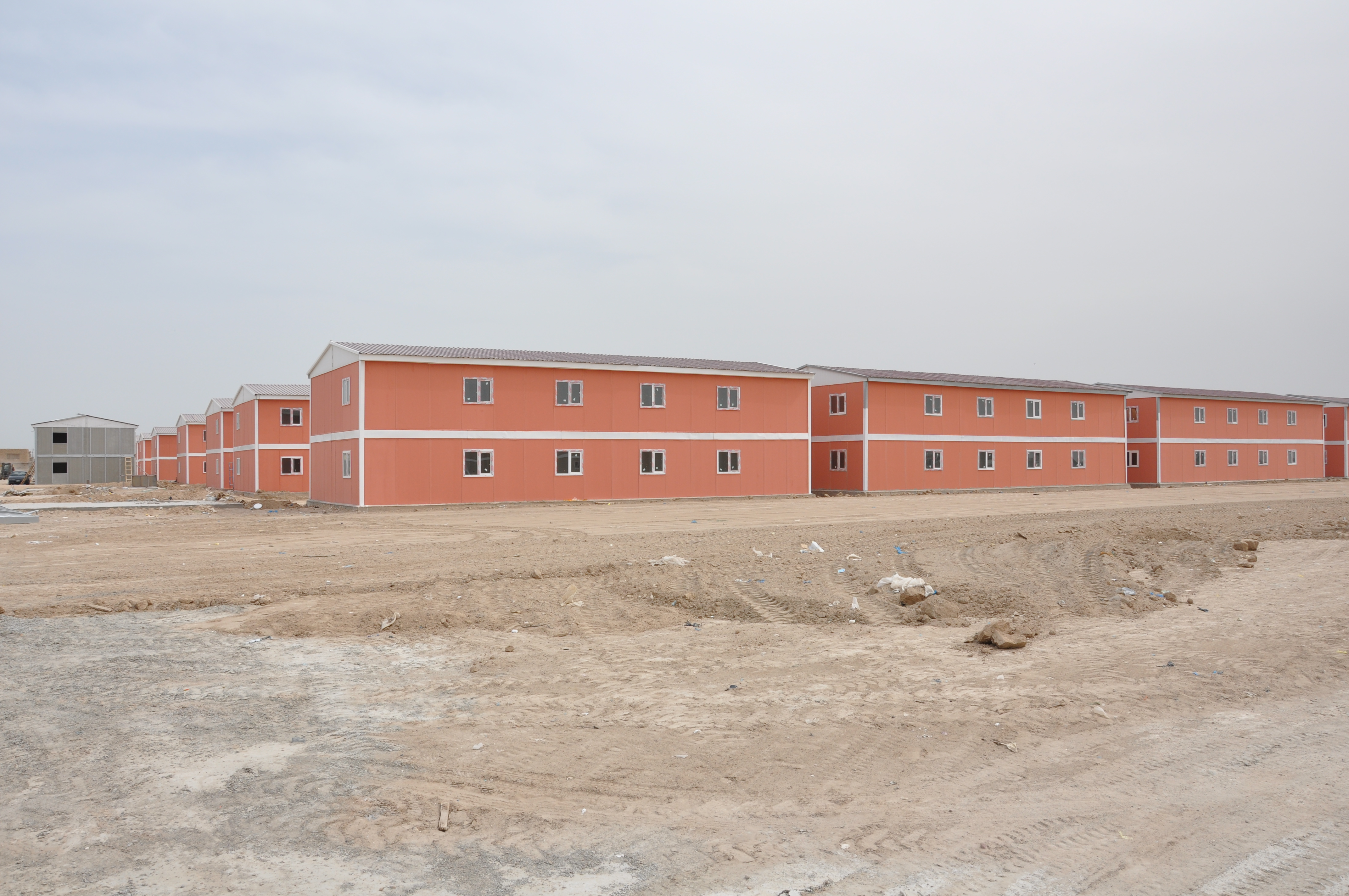 low cost prefab building africa