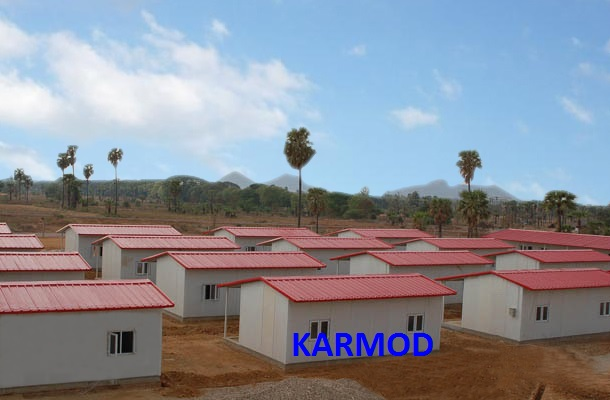 low cost prefab homes africa
