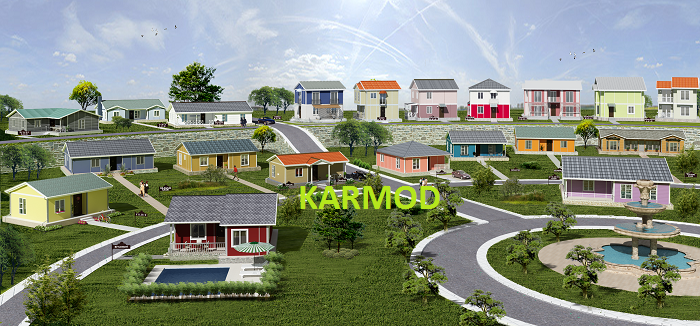 low cost prefab housing africa