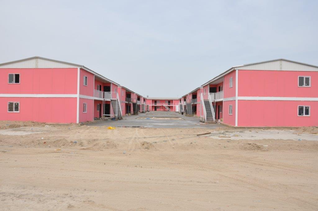 maison sociaux préfabriquée afrique