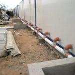 Sanitaires temporaires de chantier, WC modulaire
