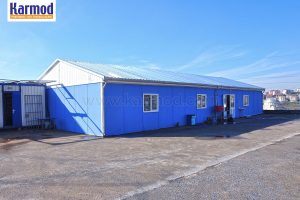 Modular prefabricated turnkey camp projects