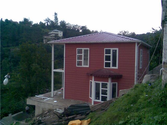 green modular housing