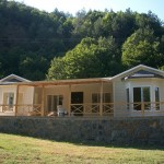 green steel prefab homes