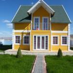 Modern Green Prefab Homes