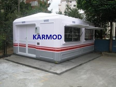 modern garden shed