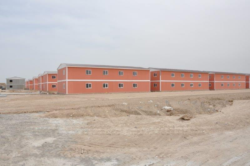 prefab villa housing projects iraq