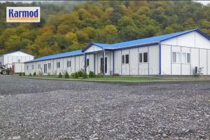 prefabricated camp