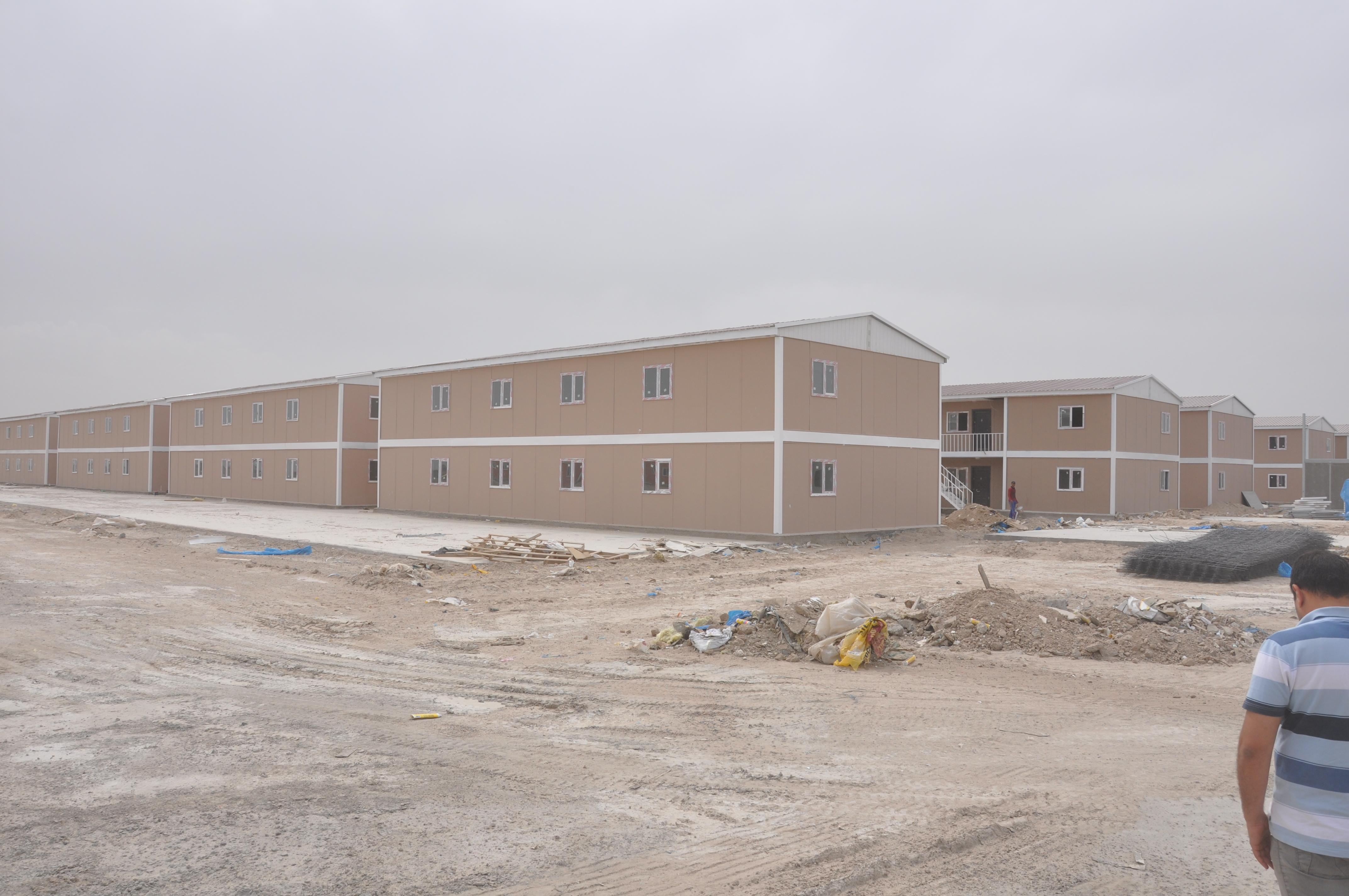 prefabricated houses iraq