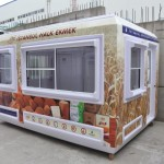 Prefabricated Portable Ticket Booth