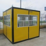 sandwich panel cabin