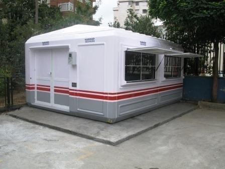 Security Gatehouses. GRP Housings