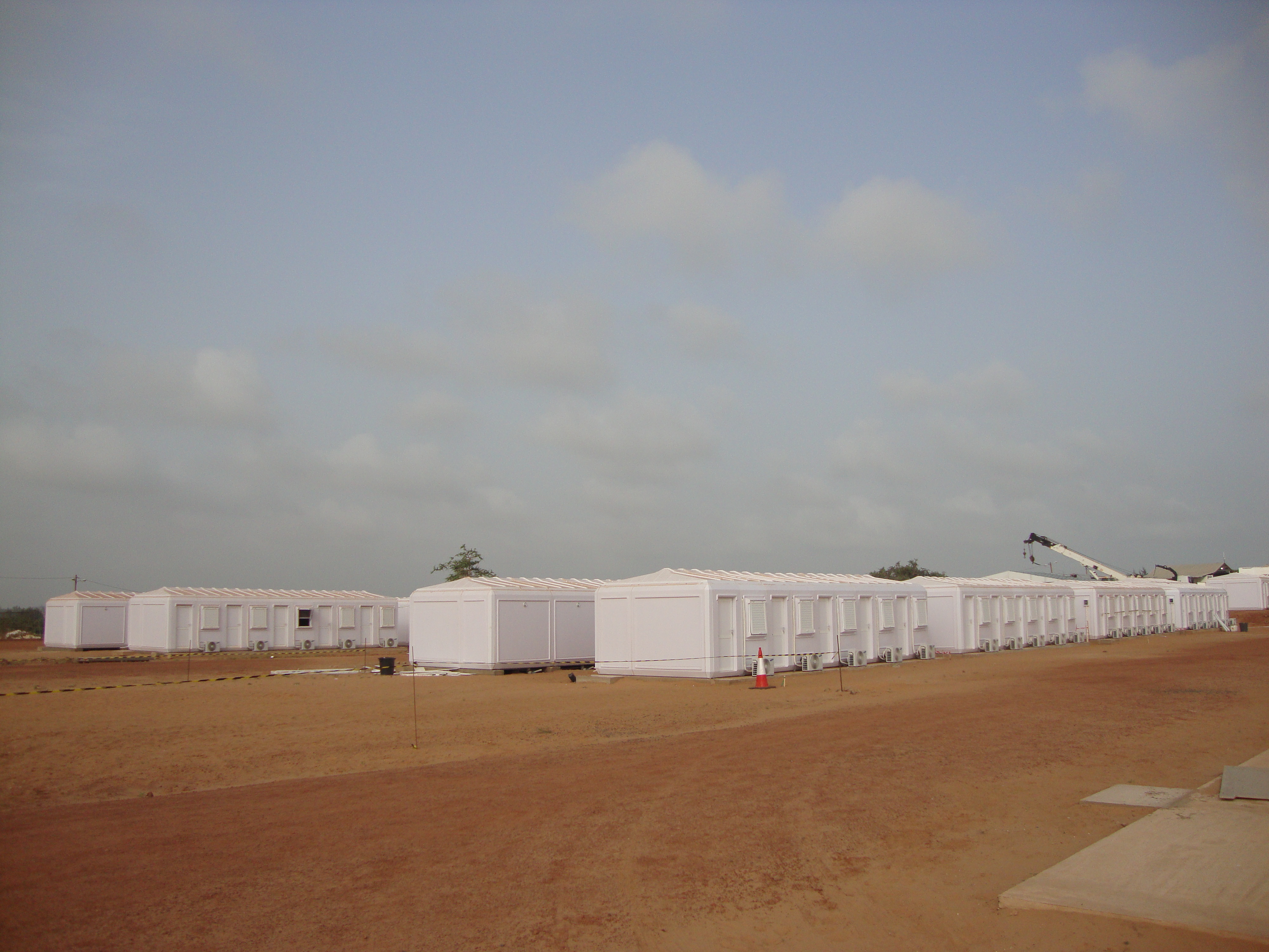 disaster relief housing units