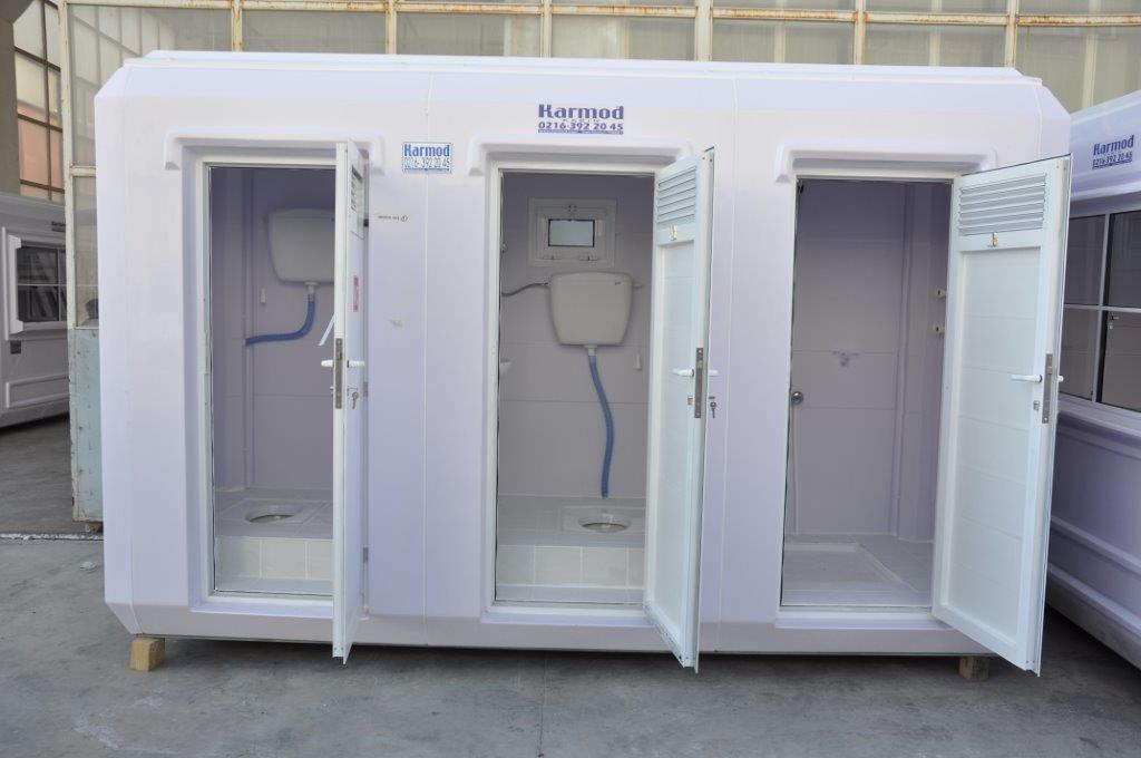 emergency special purpose toilets