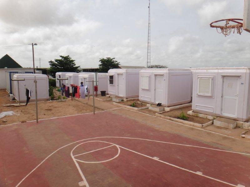 modular emergency shelter