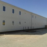 Oil and gas prefab building of Kazakhstan