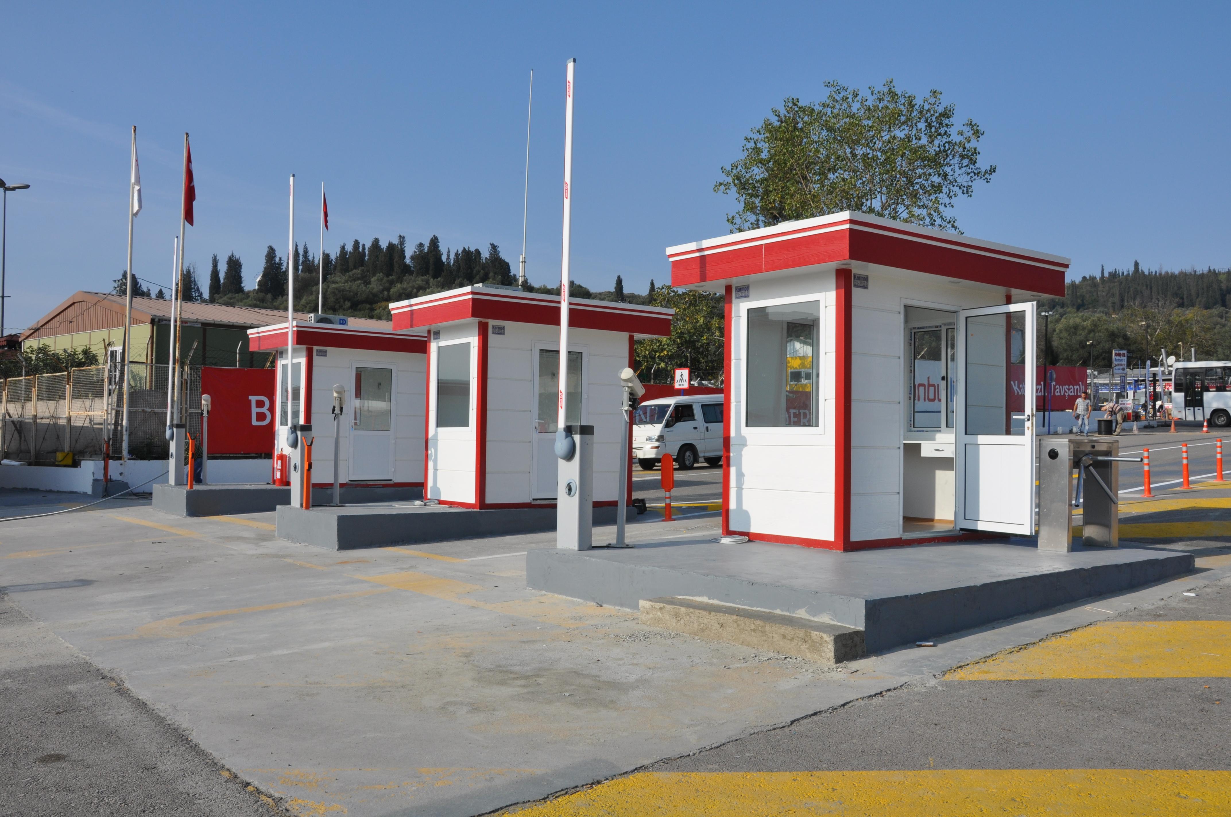 prefab ticket booths