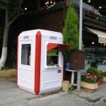 ticket kiosks car park