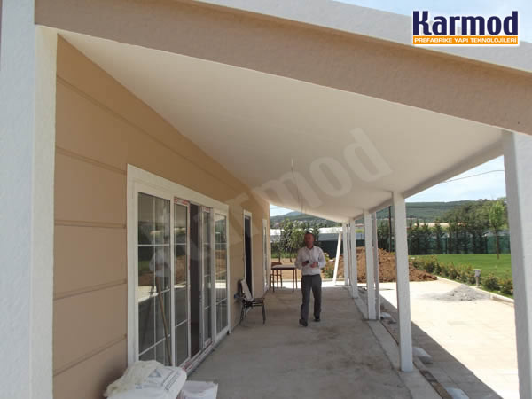 fiber cement prefabricated house