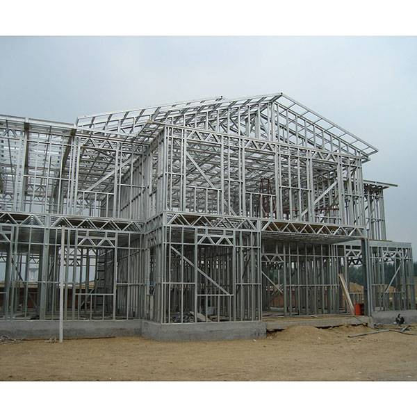 Affordable Steel Framed Houses in Africa