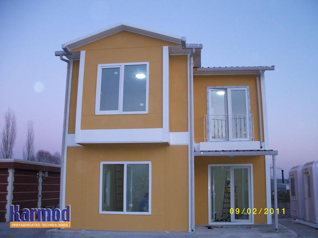 modern prefab houses europe