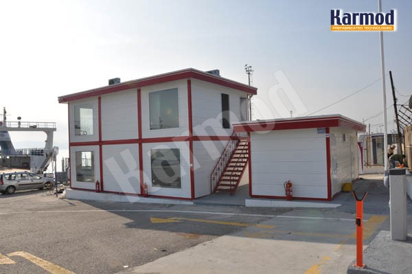 prefab modular office building