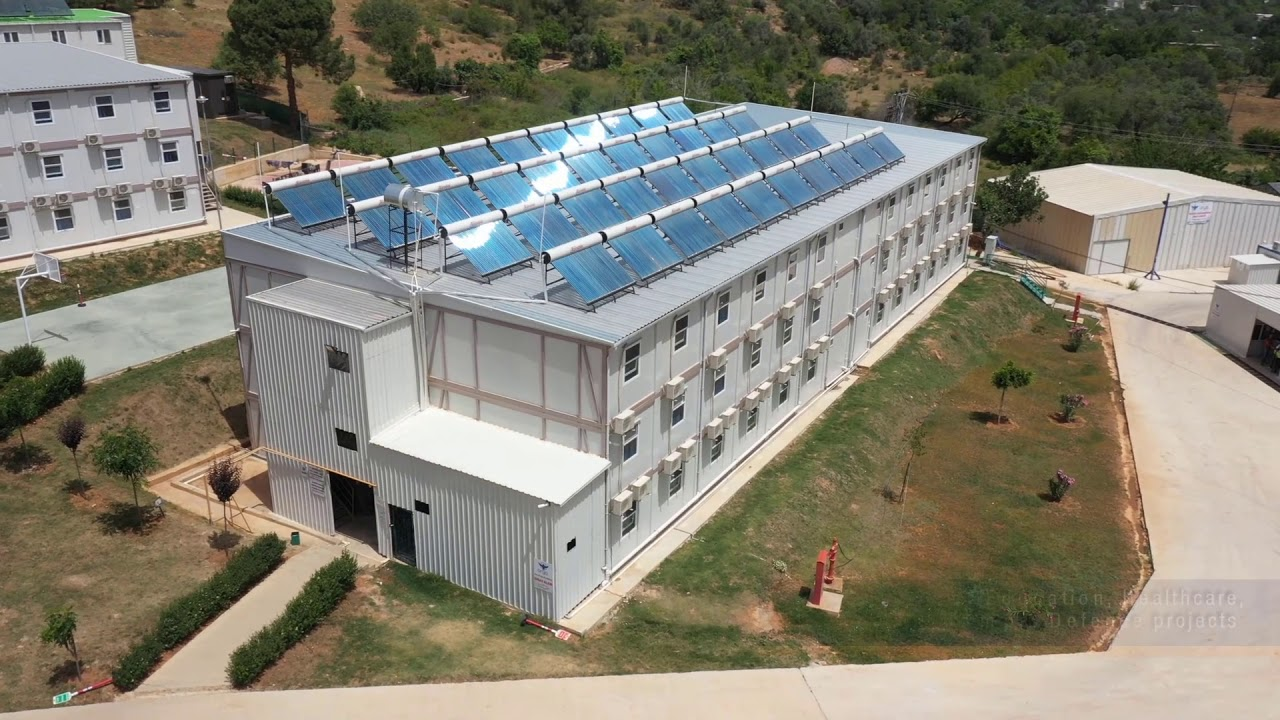 Prefabricated Structures & Buildings